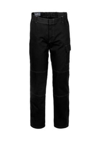 Pantalone da Lavoro Cotone Robusto NERO per Officina Meccanica 109 uomo
