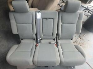 2006 Jeep Commander 2nd Second Row Rear Seat Grey Cloth Ebay