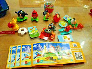 U-Ei-Angry-Birds-2-Ukraine-FS350-FS608-Komplett-mit-allen-BPZ