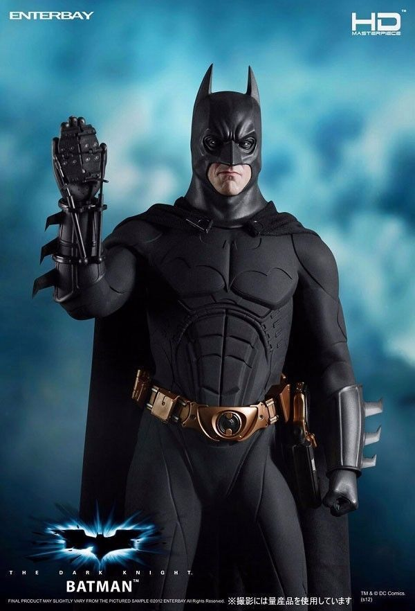Enterbay BATMAN DARK KNIGHT 1 4 HD MASTERPIECE FIGURE 18  1 4 scale