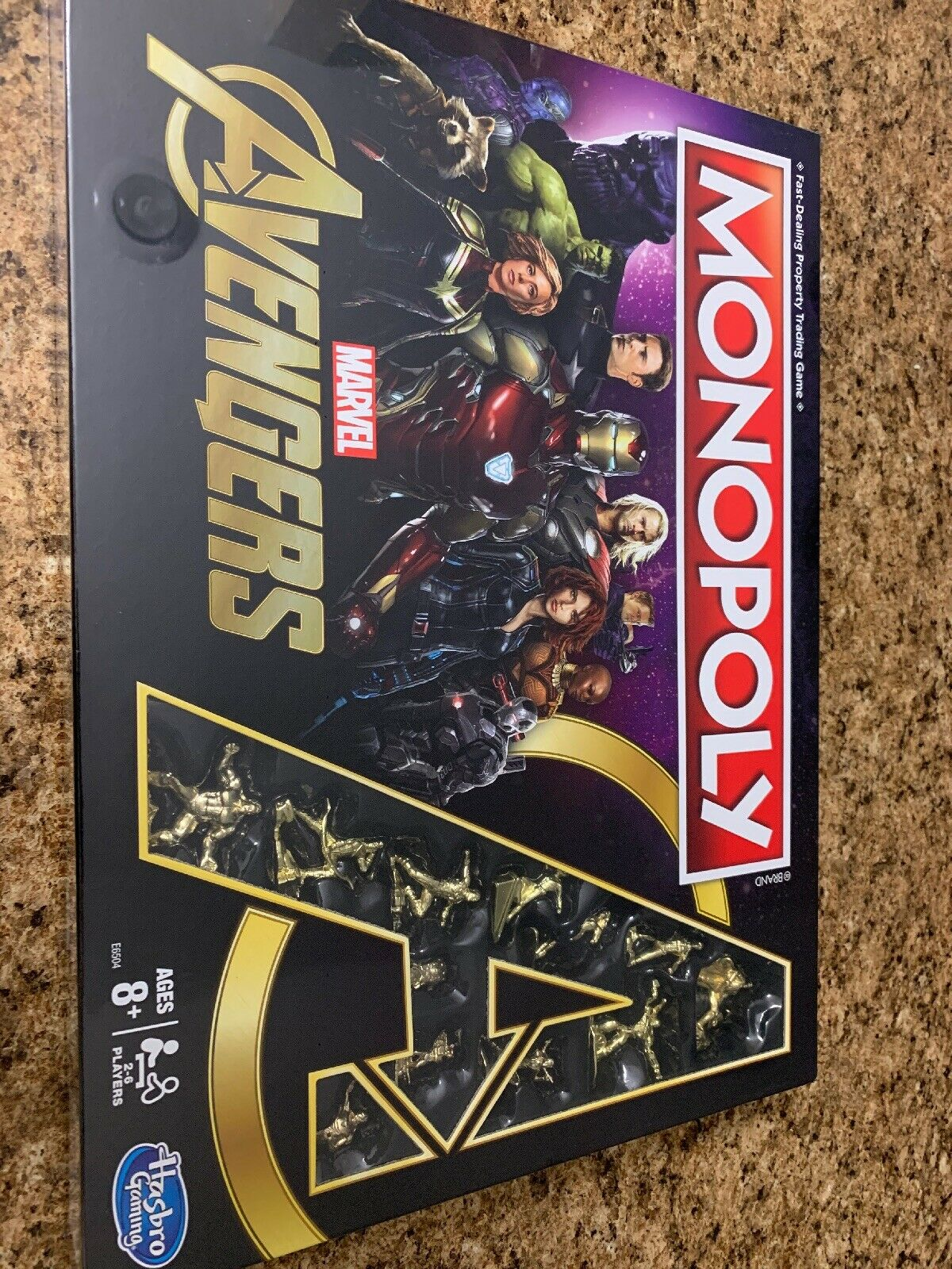 New Monopoly  Marvel Avengers  golden Endgame Special Edition (RARE) Collection