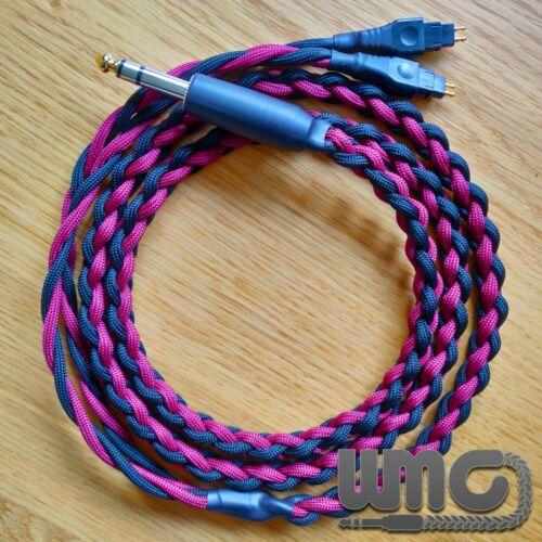 HD650//HD6XX//HD600 Custom Braided Headphone Cables Made to Order