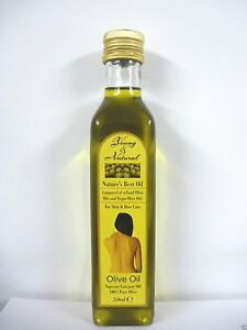 Details about YOUNG & NATURAL NATURE'S BEST OIL 100% PURE OLIVE OIL FOR  HAIR & BODY 250ML