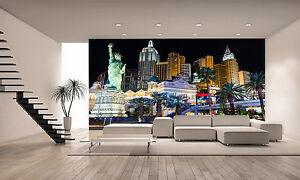 New York,Hotel and Casino Wall Mural Photo Wallpaper GIANT DECOR ...
