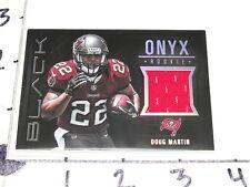 Doug Martin 2012 Panini BLACK #11 ONYX RC JSY Tampa Bay BUCCANEERS - Boise St RB