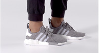 """Adidas NMD_R1 Boost """"Solid Grey"""" BB2886 Grey/White 100% AUTHENTIC sizes 7.5~13"""