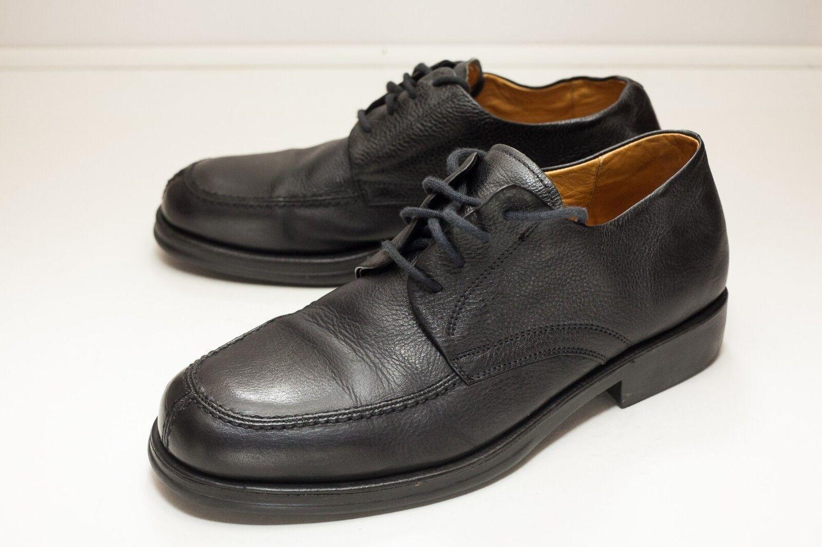 Sandro Moscoloni 10 Black Oxford Dress shoes Men's