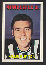 A&BC - Footballers (Orange/Red 1-109) 1972 - # 43 Ollie Burton - Newcastle