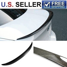 2006-2011 BMW E90 Sedan Performance Style Carbon Fiber Trunk Spoiler 328i 335i