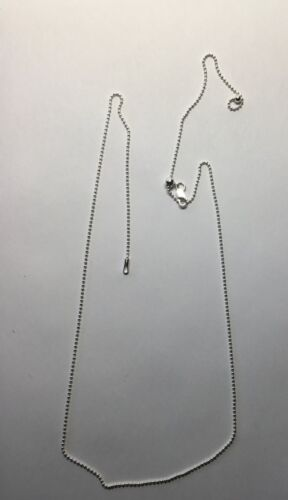 Adjustable   Sterling silver chain