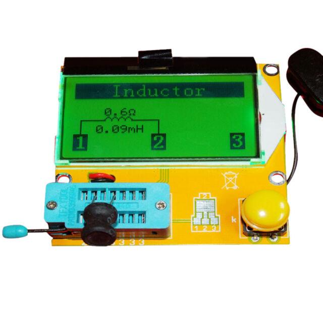 PCB Transistor Tester Diode Triode Capacitance ESR Meter MOS PNP NPN LCR LCR-T3