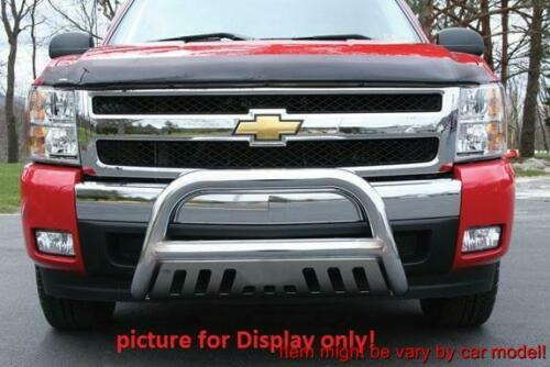 FOR DODGE RAM 1500 03-05 RAM 2500//3500 03-09 CHROME FRONT BULL BAR W// SKIT PLATE