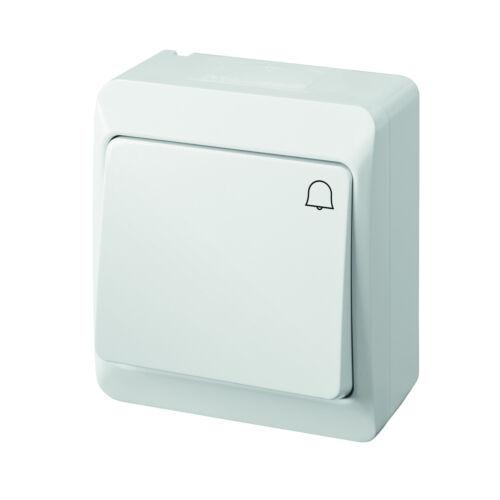 Palpeur EPN tenue d/'apparat blanc ip44 feuchtraum sonnerie 0337-02 éclaboussures protégé