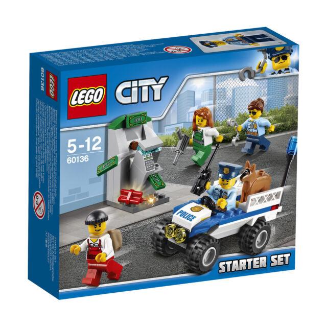 Lego City Police Starter Set 2016 60136 For Sale Online Ebay