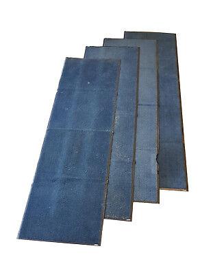 4x Anti Scivolo Lavabile Blu 10ft X 3ft Dirt Trapper Corridore Stuoie Canile Stabile- Prezzo Pazzesco