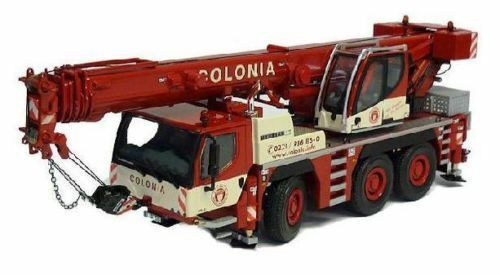 WSI MODELS 02-1438 CRANE LIEBHERR LTM 1050 3-1 COLONIA SPECIAL COMMERCE MINT BOX