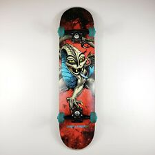 """POWELL-PERALTA CAB DRAGON STORM COMPLETE SKATEBOARD RED//LIME 7.75/"""""""