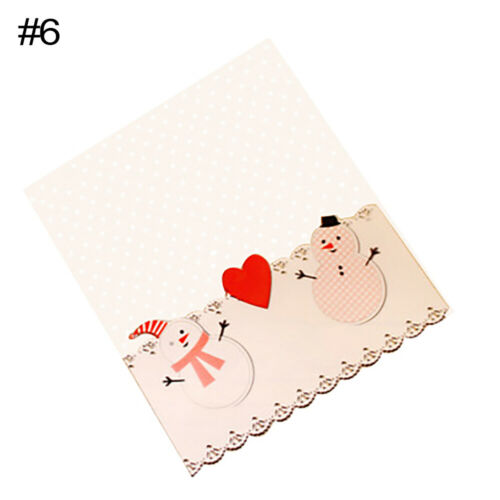 CW/_ KQ/_ 100Pc Self-Sealing Christmas Plastic Candy Cookie Gifts Packaging Bags G