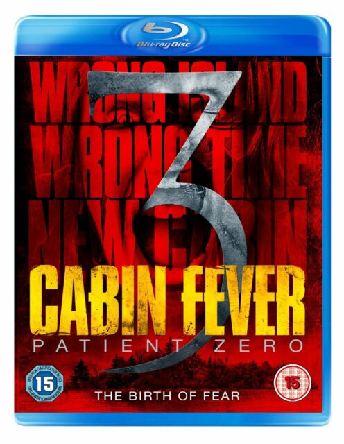 Cabin Fever 3 - Patient Zero on Blu-ray, 2014