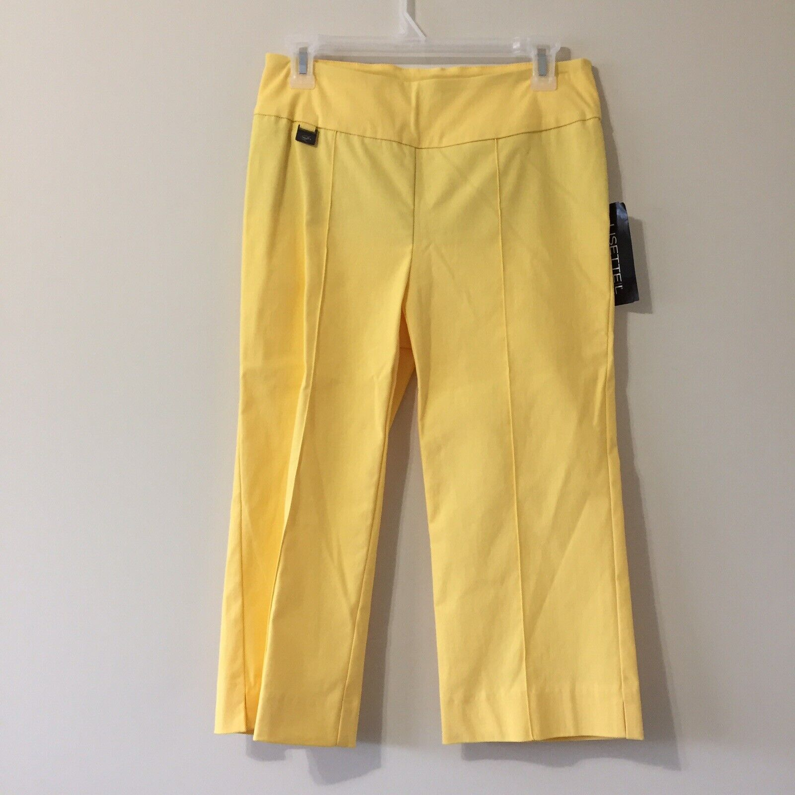 Lisette L Montreal Pants Yellow Size 8 28  waist 28  Long Spring 2015 18  inseam