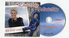 Linda Feller - cd-PROMO - DIE KRAFT VORAUS © 2014 - 1-Track-CD