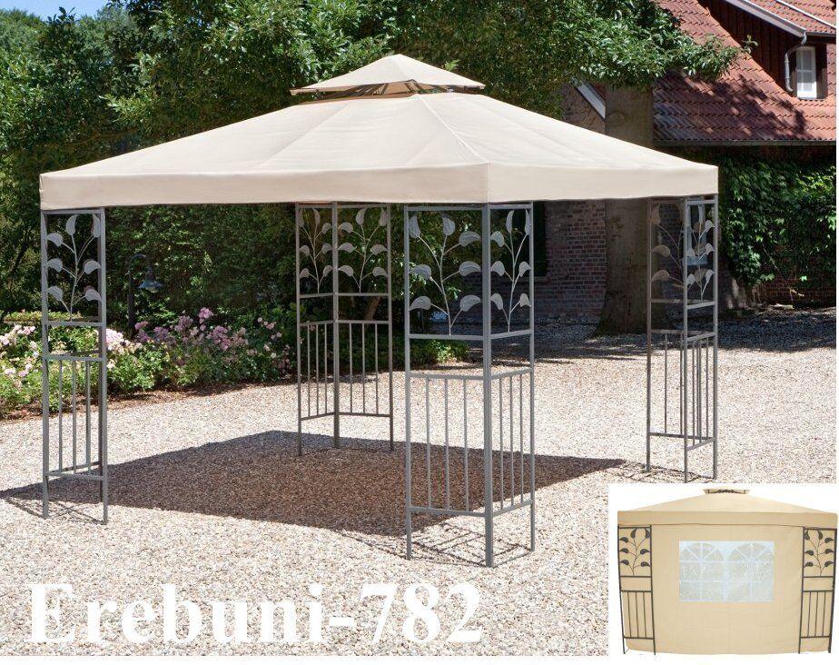 Pavillon Partyzelte 4-Eck Gartenpavillon Faltpavillon mit oder ohne Seitenteile