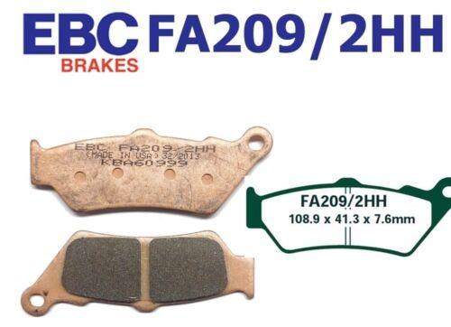 EBC Bremsbeläge Bremsklötze FA209//2HH VORN BMW G 650 Xcountry 07-09