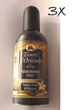 3x Tesori d Oriente Vaniglia & Zenzero Vanilla & Ginger  Parfum 100ml EdT