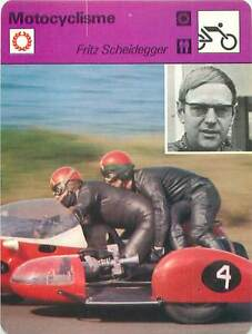 "FICHE CARD:Fritz Scheidegger Suisse Motorcycle Sidecar racer MOTORCYCLING 1970s - France - EBay Jeux Olympique Olympic GamesPORT EUROPE GRATUIT A PARTIR DE 4 OBJETSBUY 4 ITEMS AND EUROPE SHIPPING IS FREE FICHE FRANCE ANNEES 70sMOTOCYCLISME Pilote de vitesse motocycle ETAT VOIR PHOTO FORMAT 16 CM X 12 CM SIZE : 6.29 "" X 4.72 "" inch FICH - France"