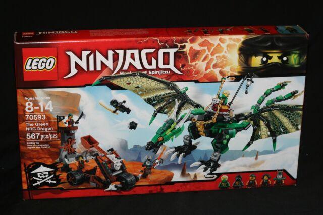LEGO NINJAGO 70593 THE GREEN NRG DRAGON (2016) N/M RETIRED BRAND NEW SEALED