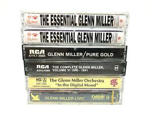 Lot of 6 Glenn Miller Cassettes Tape , Pure Gold , In The Digital Mood, ...