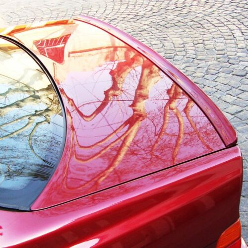 Fyralip Unpainted Trunk Lip Spoiler For Saturn Aura Sedan 07-11