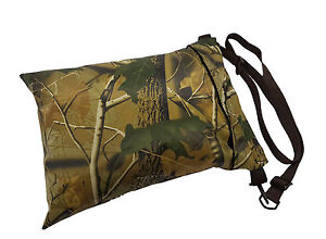 Large-Photography-camera-Waterproof-rest-camo-beanbag-with-strap-bean-bag-Leafy