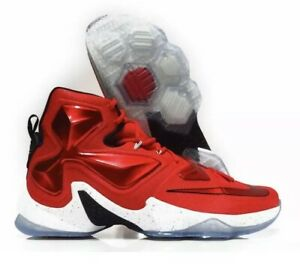 c1abfe47e0e1d Nike Lebron XIII Away Basketball Men s Sz 12 Shoes University Red ...