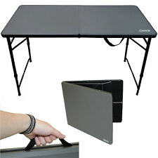 COLEMAN 4ft FOLD IN HALF TABLE PICNIC CAMPING CAMP 1377562