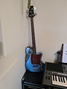 Ibanez Electric Bass Guiter With Amplifier & Strap, used once