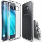 BUNDLED For Samsung s6 s7 Edge Iphone 5 6 plus SE CLEAR SILICON GEL CASE