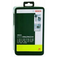 Bosch 25pcs HSS-R-Metal Drill Bit Set
