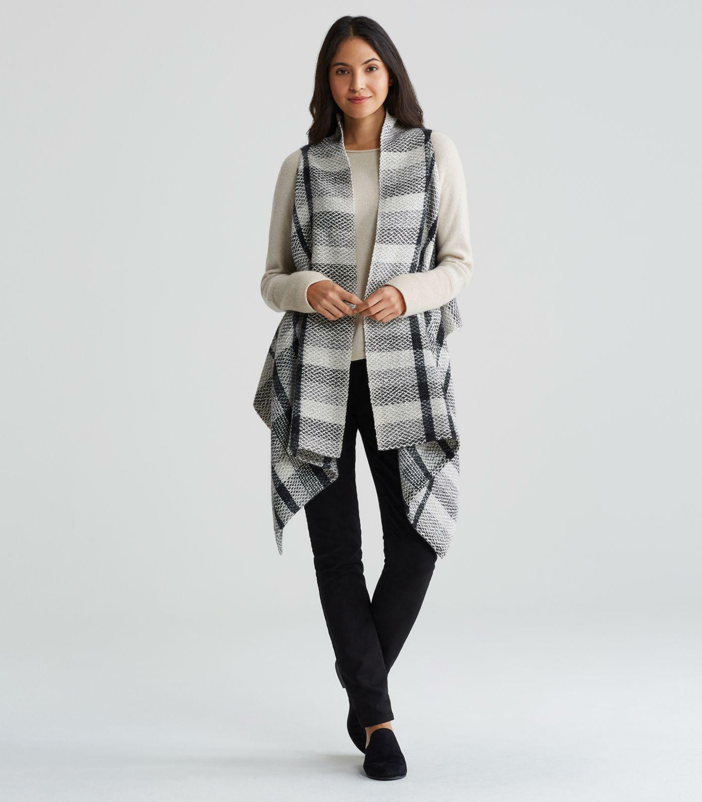 8f0d86ded Nwt's Eileen Peruvian M S Vest Alpaca Cotton Organic Handwoven ...