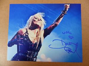 DORO PESCH signed Autogramm signiert auf 20x25 cm Foto