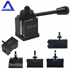 Wedge Type Quick Change Tool Post Holder Set Oxa 250 000 For Mini Lathe Up To 8