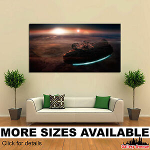 2d473a80a00 Image is loading Wall-Art-Canvas-Picture-Print-Star-Wars-Millenium-