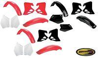 Ufo Plastic Kit Fits Honda Cr125 1995 1996 1997 And Cr250 1995 1996 Fender Plate