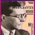 Shostakovich Lieder Vol.3 von Shkirtil,Lukonin,Serov,Evtodieva (2011)