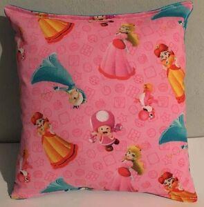 Mario-Brothers-Princesses-Pillow-HANDMADE-Mario-Brothers-Super-Mario-Nintendo