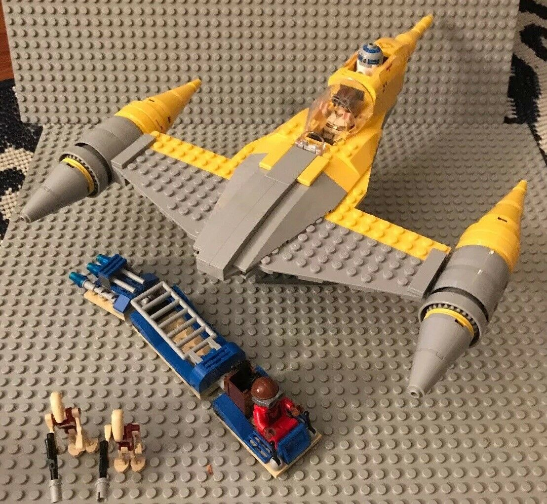 Lego Star Wars Naboo Starfighter 7787 Minifigures