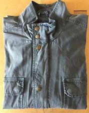 Lucky Brand Men's Blue Indigo Cotton Waist Coat Jacket XL Extra Large New NWT