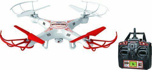 Striker 2.4GHz 4.5CH Camera RC Spy Drone - White (34937)  A(201925)