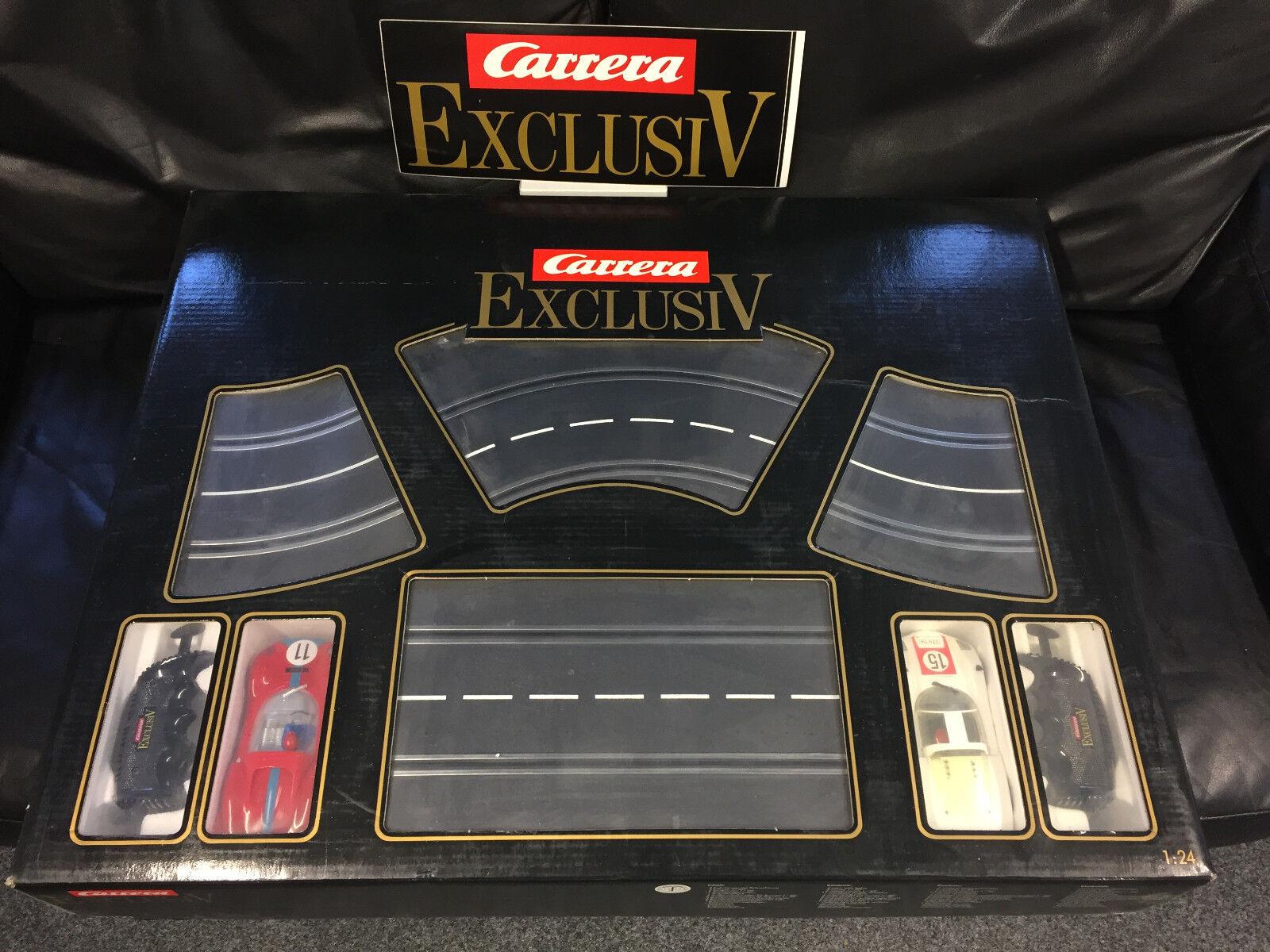 Carrera Exklusiv Komplettset (noch eingeschweißt  ) mit 2x OVP und viel Zubehör