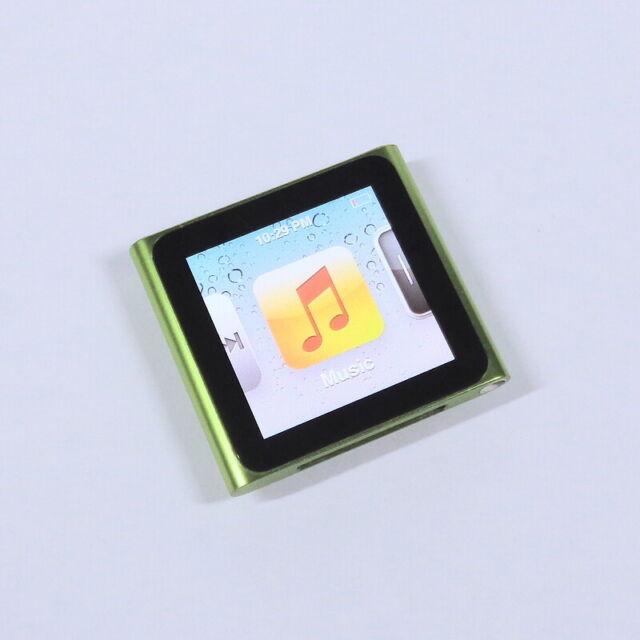 Apple iPod Nano 8GB 6th Gen Generation Green MP3 WARRANTY